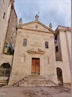 Церковь св.Марка с венецианским львом на фасаде.
