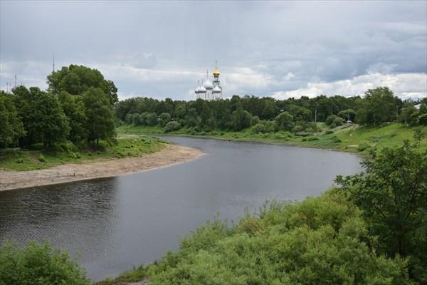 Софийский собор над р.Вологда