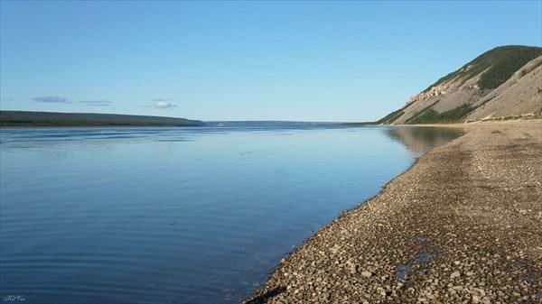 Правый берег напротив Малыкана