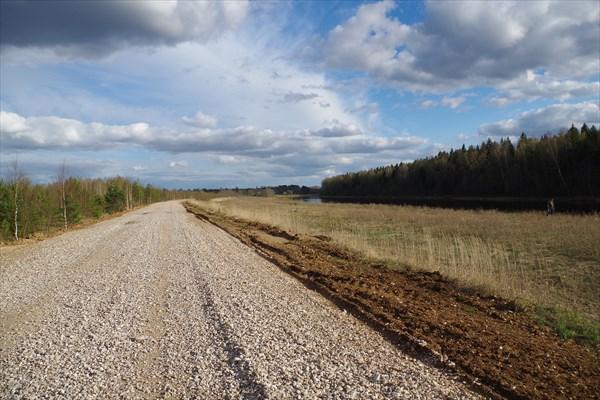 Гравийная дорога