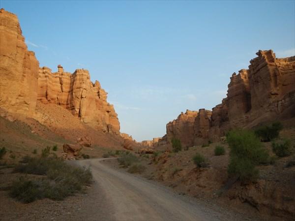 Утренний каньон