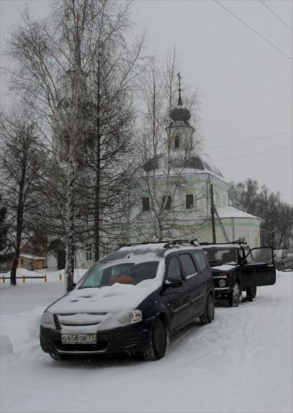 Никольская церковь села Незнаново