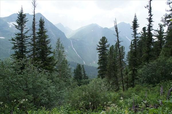 Россия горные районы   ландшафты кинзелюкский водопад