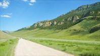 Дорога на Джаан Булак