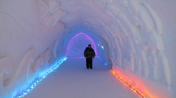 В 'Снежной деревне'