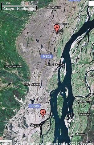 Нюрба - карты и фотографии Нюрба. География и описание город Нюрба ...