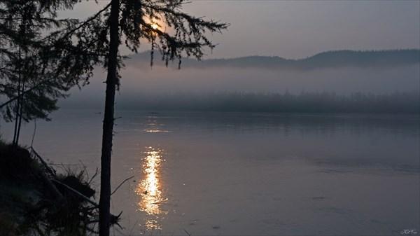 Утро перед прохождением Сулуматского порога