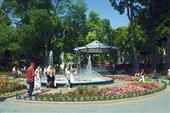 Городской сад на Дерибасовской